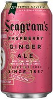 Seagram's Raspberry Ginger Ale 12 fl. oz. Can