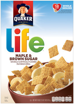Life® Maple & Brown Sugar Multigrain Cereal 18 oz. Box