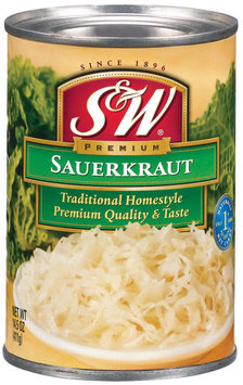 S&W® Traditional Homestyle Sauerkraut 14.5 oz. Can