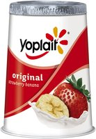 Original Strawberry Banana Low Fat Yogurt