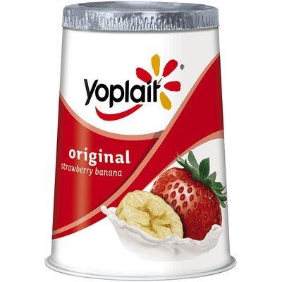 Original Strawberry Banana Low Fat Yogurt