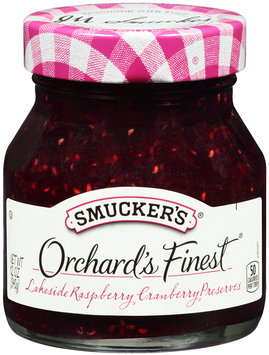 Smucker's® Orchard's Finest® Lakeside Raspberry Cranberry Preserves 12 oz. Jar