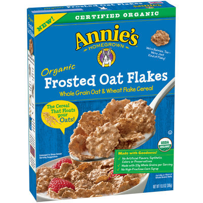 Annie's Organic Frosted Oat Flakes Cereal