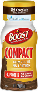 Boost® Rich Chocolate Complete Nutritional Drink 4 fl oz. Plastic Bottle