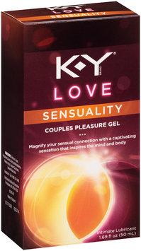 K-Y® Love Sensuality Couples Pleasure Gel Intimate Lubricant 1.69 fl. oz. Box
