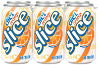 Diet Slice® Orange Soda 6 Pack 12 fl. oz. Cans