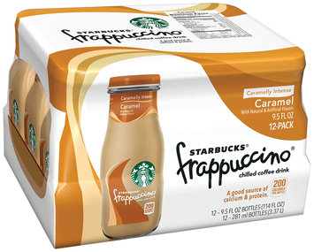 Starbucks® Caramel Frappuccino® Coffee Drink 12 Pack 9.5 fl. oz. Glass Bottles