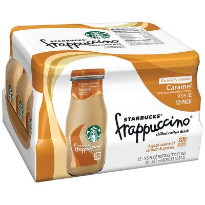Starbucks® Caramel Frappuccino® Coffee Drink 12 Pack 9.5 fl. oz. Glass Bottles