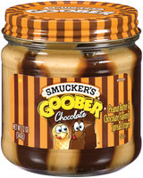 Smucker's Chocolate Flavored Stripes Goober Peanut Butter & Spread 12 Oz Jar