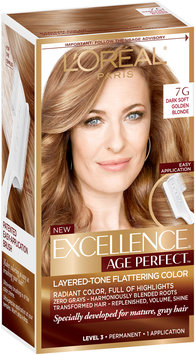 L'Oréal® Paris Excellence® Age Perfect™ Layered-Tone Flattering Color 7G Dark Natural Golden Blonde 1 Kit
