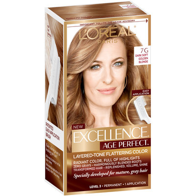 L'Oréal® Paris Excellence® Age Perfect™ Layered-Tone Flattering Color 7G Dark Natural Golden Blonde 1 Kit
