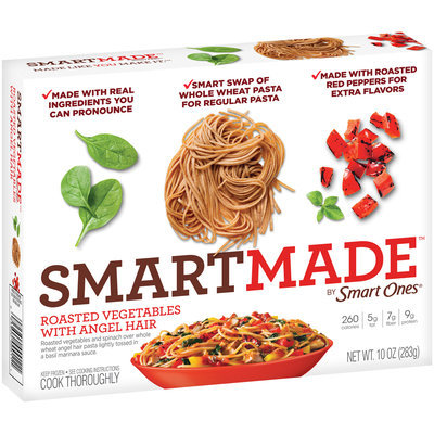 SmartMade™ by Smart Ones® Roasted Vegetables with Angel Hair