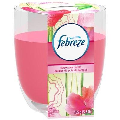 Candle Febreze Candle Sweet Pea Petals Air Freshener (1 Count, 5.5 Oz)
