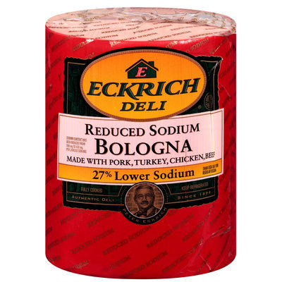 Eckrich Deli® Reduced Sodium Bologna