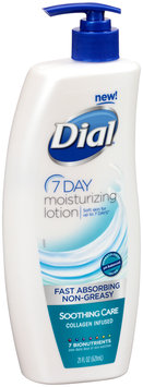 Dial® 7 Day Moisturizing Lotion with Collagen