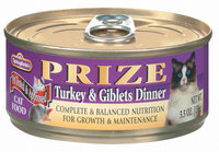 Springfield Prize Turkey & Giblets Dinner Cat Food 5.5 Oz Can