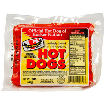 Fiarbury Brand® Hot Dogs