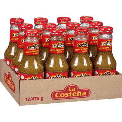 La Costena® Medium Green Mexican Salsa 12-475g Jars