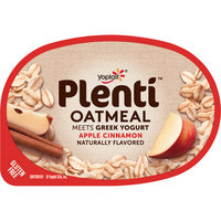 Yoplait® Plenti™ Apple Cinnamon Oatmeal with Greek Yogurt 5.5 oz. Cup
