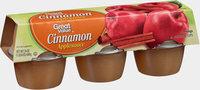 Great Value™ Cinnamon Applesauce 6-4 oz. Cups