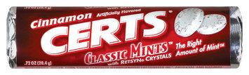 Certs Cinnamon Classic Mints