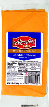 Alpine Lace® 25% Reduced Fat Cheddar Cheese Slices 24 oz. Pack
