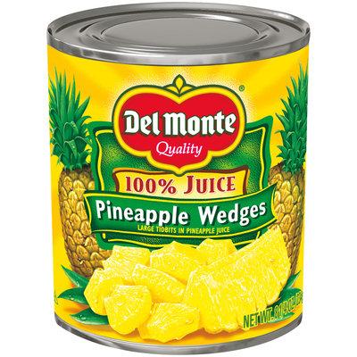 Del Monte® Pineapple Wedges in 100% Pineapple Juice 8.25 oz. Can