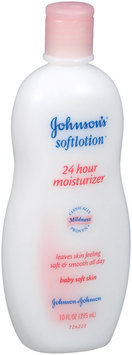 Johnson's® Johnson's Softlotion 24hr Baby Lotion 10 Oz Squeeze Bottle