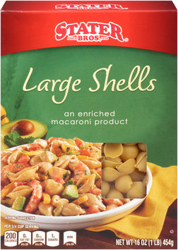 Stater Bros.® Large Shells Pasta 16 oz. Box