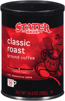 Stater Bros.® Classic Roast Medium Roast Ground Coffee 10.3 oz. Canister