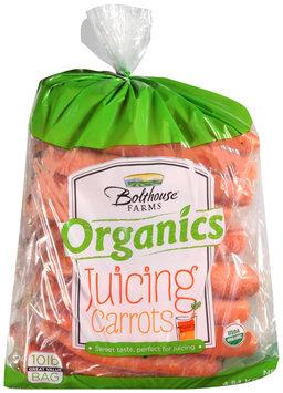 Bolthouse Farms® Organics Juicing Carrots 10 lb. Bag