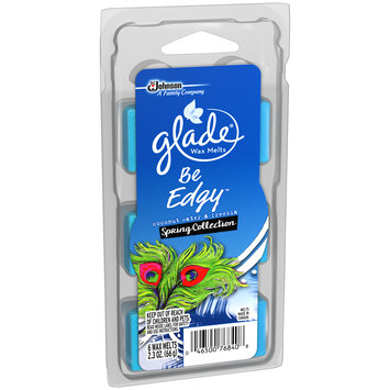 Glade® Coconut Water & Freesia Be Edgy™ Spring Collection Wax Melts Refill 6 ct Clamshell