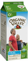 Organic Valley® Skim Milk 0.5 gal. Carton