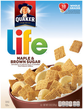 Quaker Life Maple & Brown Sugar Cereal