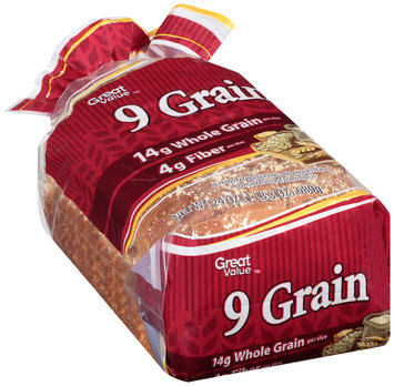 Great Value™ 9 Grain Bread 24 oz. Loaf
