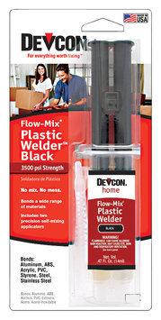 Devcon® Home Flow-Mix® Plastic Welder™ Black 0.47 fl. oz. Syringe