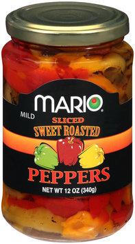 Mario® Mild Sliced Sweet Roasted Peppers 12 oz. Jar