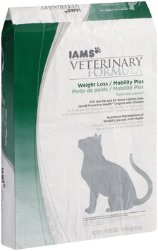 Iams Veterinary Formula™ Weight Loss/Mobility Plus Restricted-Calorie™ Dry Cat Food 18 lb. Bag