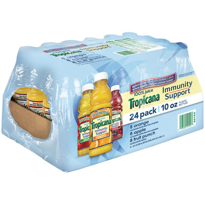 Tropicana® Immunity Support Variety Pack Orange Apple & Fruit Punch Juice