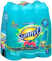 SunnyD® Blue Raspberry Citrus Punch 6-11.3 fl. oz. Bottles