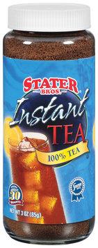 Stater Bros. 100% Instant Tea 3 Oz Glass Bottle