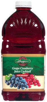 Haggen Grape Cranberry Juice Cocktail 64 Oz Plastic Bottle