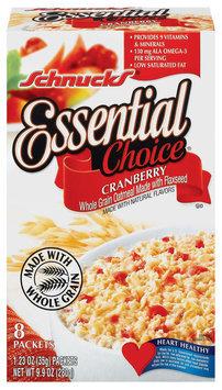 Schnucks Essential Choice Cranberry 8 - 1.23 Oz Packets Oatmeal 9.9 Oz Box