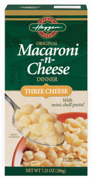 Haggen Three Cheese Macaroni & Cheese 7.25 Oz Box