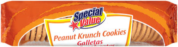 Special Value Peanut Krunch Cookies 12 Oz Tray
