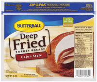 Butterball Deep Fried Cajun Style Turkey Breast 8 Oz Zip Pak