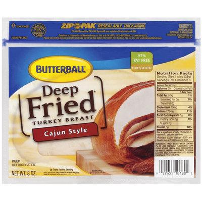 Butterball Deep Fried Cajun Style Turkey Breast 8 Oz Zip Pak
