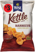 Wise® Kettle Cooked Barbecue Flavored Potato Chips 9 oz. Bag