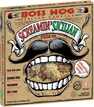 Screamin' Sicilian™ Pizza Co. Boss Hog Italian Sausage Pizza 25.05 oz. Box