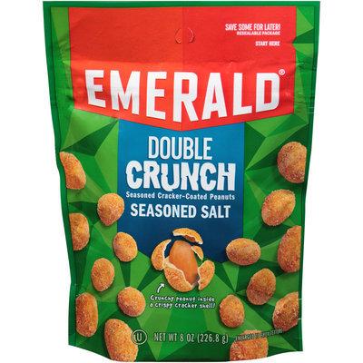 Emerald® Seasoned Salt Double Crunch Seasoned Cracker-Coated Peanuts 8 oz. Bag